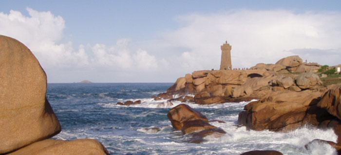Perros-Guirec on the pink granite coast