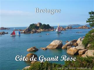 the Pink Granite Coast : Perros-Guirec - Stereden, Village de Chalets